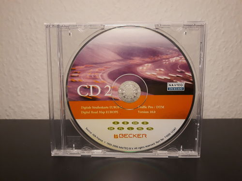 Becker Traffic Pro Navigations-CD Nr.2