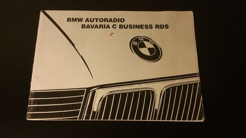 "Bedienungsanleitung ""BMW Bavaria C Business RDS"""
